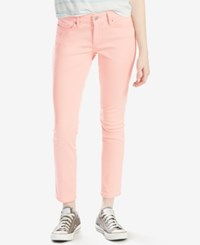 Levi's 711 Skinny Ankle Jeans Coral Blush