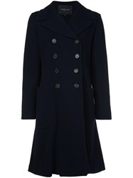 Derek Lam Double Breasted Coat Blue