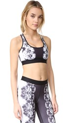 Monreal London Reversible Sports Bra Viola Print