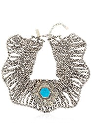 Nightmarket Tribal Collar Necklace