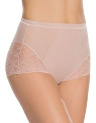 Spanx Spotlight On Lace Mesh Brief Vintage Rose