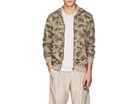 Atm Anthony Thomas Melillo Camouflage Cotton Terry Hoodie Green