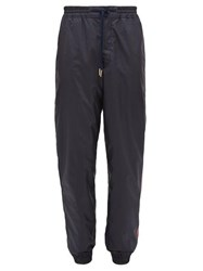 Thom Browne Tricolour Stripe Track Pants Navy