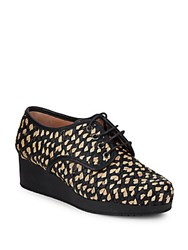 Robert Clergerie Woven Patterned Lace Up Shoes Black