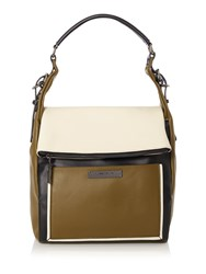 Kenneth Cole Hudson Hobo Bag Olive