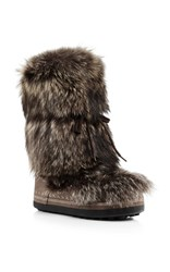 Bogner Fluffy Brown Boot
