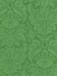 Etro Clorinde Printed Wallpaper Green