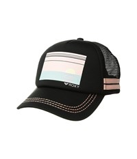 Roxy Dig This Trucker Hat Anthracite Rose Tan Caps Black