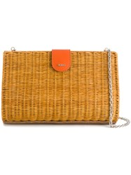 Rodo Basket Clutch Nude And Neutrals