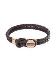 Emporio Armani Bracelets Dark Brown