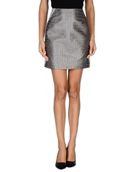Richard Nicoll Knee Length Skirts Grey