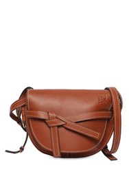 Loewe Small Gate Leather Bag Rust