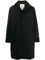Song For The Mute Hunter Print Coat Black