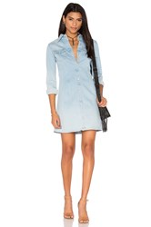 Ag Adriano Goldschmied Jacqueline Button Up Dress Crane