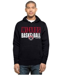 47 Brand '47 Men's Washington Wizards Knockaround Headline Pullover Hoodie Navy