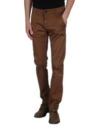Velour Casual Pants Camel