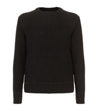 Canada Goose Galloway Ribbed Sweater Black