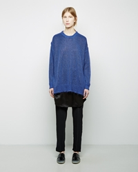 Maison Martin Margiela Combo Sweater Dress Blue