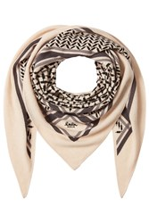 Lala Berlin Printed Cashmere Scarf Multicolored