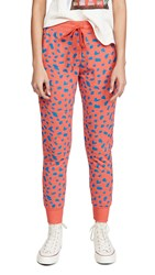 Sundry Abstract Dot Tapered Sweatpants Lighthouse