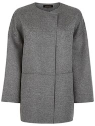 Jaeger Double Faced Cape Light Grey