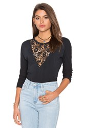 Ragdoll Lace Long Sleeve Black