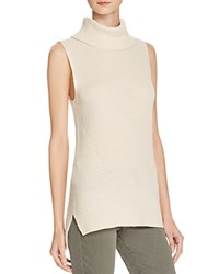 French Connection Abel Ribbed Turtleneck Sweater Classic Cream