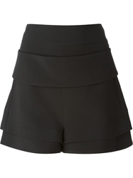 Givenchy Panelled Mini Skorts Black