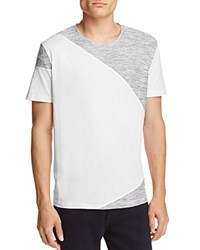 Hugo Dahoo Color Block Tee White