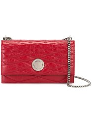 Bally Extra Small 'Eclipse' Shoulder Bag Red