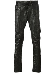 Army Of Me Elongated Tapered Trousers Black