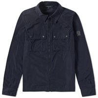 Belstaff Shawbury Shirt Jacket Blue