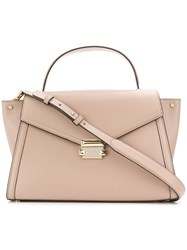 Michael Michael Kors Whitney Large Satchel Nude And Neutrals