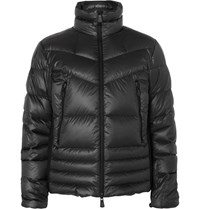Moncler Grenoble Canmore Quilted Shell Down Ski Jacket Charcoal