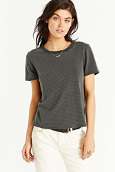 Truly Madly Deeply Classic Boyfriend Tee Black And White