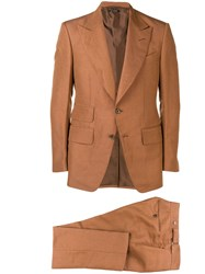 Tom Ford Two Piece Formal Suit Brown
