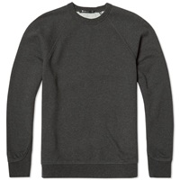 T By Alexander Wang Studded Crew Sweat Charcoal