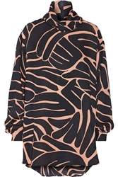 Issa Jenny Printed Silk Georgette Blouse