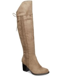 American Rag Leonna Over The Knee Boots Only At Macy's Women's Shoes Truffle