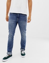 Cheap Monday Slim Tapered Jeans In Blue