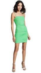 Susana Monaco Side Gather Dress Arugula
