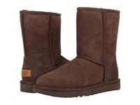 Ugg Classic Short Ii Chocolate Women's Boots Brown