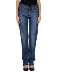 Dolce And Gabbana Denim Pants Blue