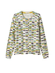 White Stuff Greta Block Print Cardi Multi Coloured Multi Coloured