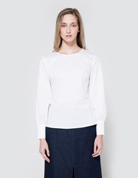 Just Female Vally Blouse White