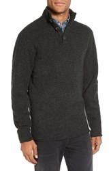 Rodd And Gunn Men's Birkenhead Mock Neck Sweater Forest