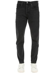 Levi's Lij 502 Regular Tapered Denim Jeans Black