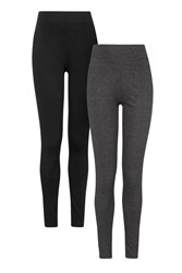 Topshop Maternity Multi Pack Leggings Charcoal