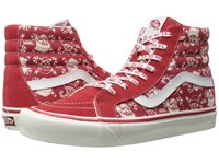 Vans Sk8 Hi 38 Reissue 50Th Stv Pirate Santa Red Skate Shoes