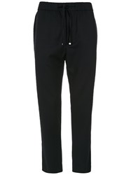 Egrey Straight Wool Trousers Blue